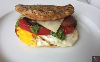 Pesto Egg Sammie